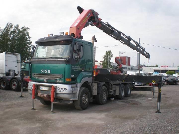 Sisu E11m Kk-kk 8x4 - 2004