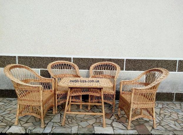 Набор плетений з лози  3 600 грн. - Меблі для вітальні Київ на Olx 56d347fad455c