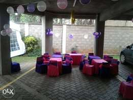 Themed birthday party packages.