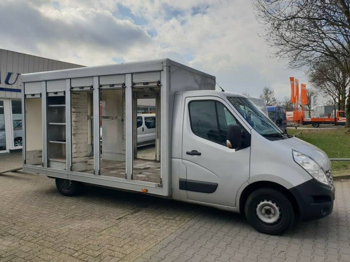 Renault Master 2.3CDTi, Spezial-koffer - 2012