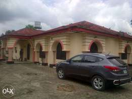 4 bedroom bungalow on 2 and half plots in Woji Port Harcourt
