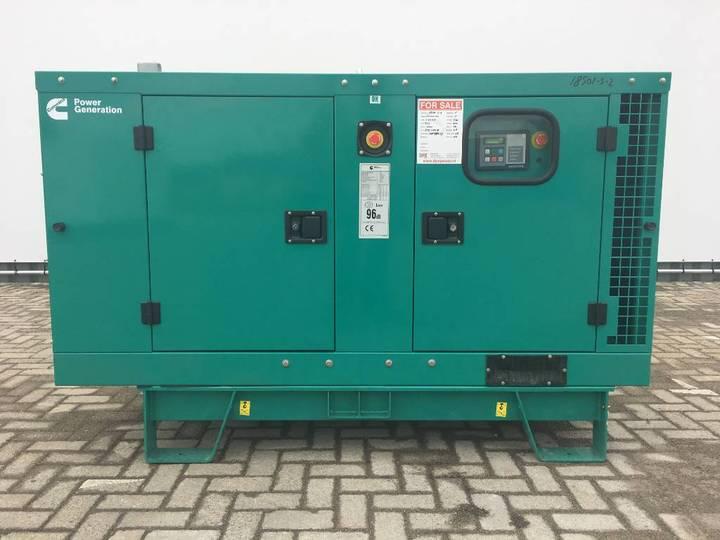 Cummins C17 D5 - 16,5 kVA Generator - DPX-18500 - 2019 - image 2