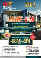 An Estate inside the Lakowe Golf Course selling cheap with C of O