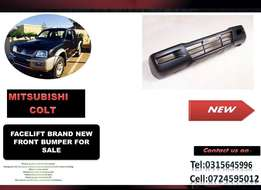 Mitsubishi Colt Facelift 2006 ON New Front bumpers for sale price R895