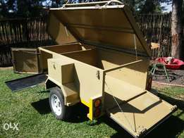 Moonbuggy luggage Trailer with all papers rwc