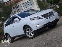 Lexus RX450h white colour 2010 model fullyloaded edition