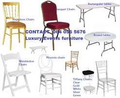 VIP event chairs for sale at very good price