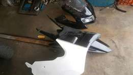 Vfr nc30 tyga fairings without subrame just fairings was on this bike