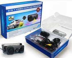 Brand new 3 in 1 - Night Vision - Reverse Backup - Parking Sensor