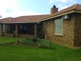 A home away from home.. Winterton KZN.View of the Drakensberg