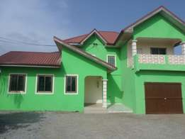Newly built four bedroom house for sale at Kokrobite