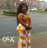 Nyame Akwan Kente from Bonwire Home of Quality Kente.