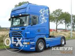 Scania R560 - To be Imported