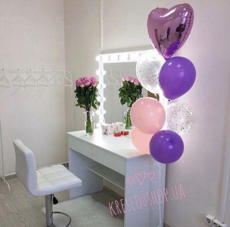 Визажный стол, Зеркало с лампами, туалетный столик, Зеркало визажиста 2fd3c87dbad