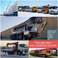 Cranes , Trailers, Forklift & Hiabs