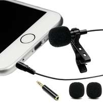 Lavalier Lapel Microphone I phone & Android