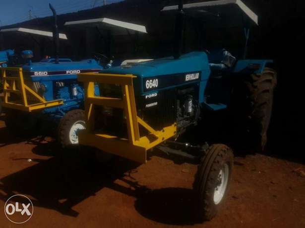 Tractor newholland 6640 powerstar Elgonview - image 2
