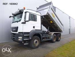 MAN Tgs 28.540 6x4 Full Steel Hub Reduction Euro 5 - To be Imported