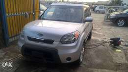 Kia Soul 2010 Silver in Excellent Condition