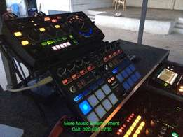 DJ Equipments, CDJ 2000s , Mixer , Pads,Ect