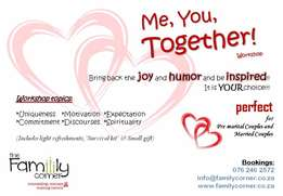 Me, You, Together ~ Couple's Workshop
