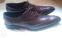 Dark tan Men's Official shoes