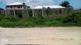 A Commercial Plot Of Land Is For Sale On Ajao/oyetubo Street, Ikeja