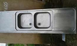 Double sink and mixer