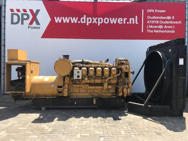 Caterpillar 3512 - 1.275 kVA Generator incomplete - DPX-11838 - 2008