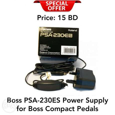Boss PSA-230ES Power Supply for Boss Compact Pedals