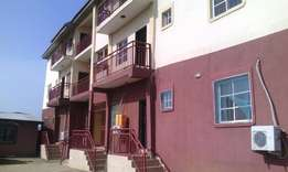 A spacious two bedroom flat in Lugbe