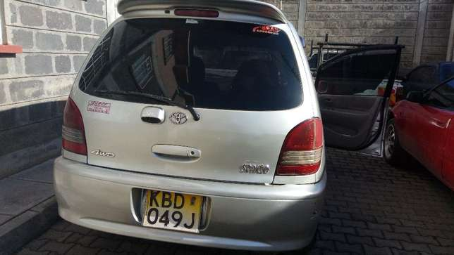 A Clean , Lady owned and driven 4WD silver Toyota Spacio 1760cc Nakuru East - image 2