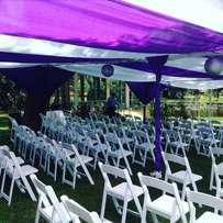 foldable chairs for hire
