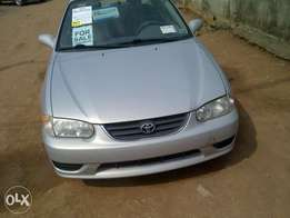 Toyota corolla 2003 just imported