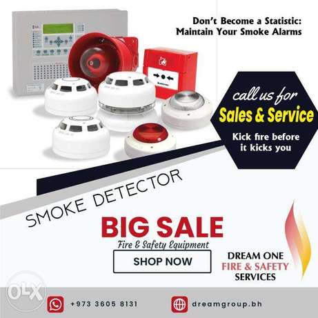 Dream One Fire and Safety - Fire Extinguisher Service Bahrain