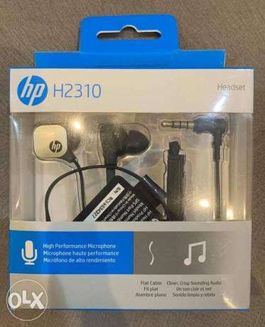 HP H2310 Black&Gold In-ear Headset