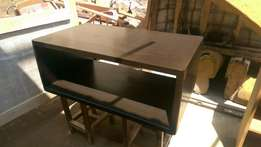 Coffee brown center table