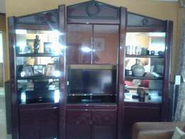 A stylish, well taken care of: Wall unit
