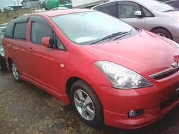 Toyota WISH on UBB/ A