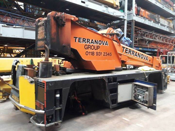Terex Demag Ac 75 For Parts