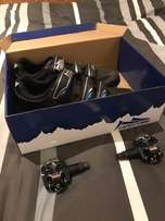 new cleat shoes(U.K. 10) with cleats at a great deal!