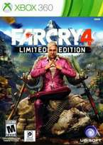 Farcry 4 xbox 360 game for sale
