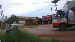 14decimal commercial plot in Bweyogerere town at 250M