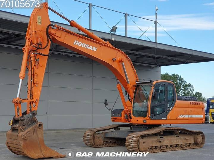 Doosan DX 255 LC Original hours from 1st owner - 2007