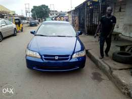 Fairly new 2002 Honda Accord Baby Boy newly painted for N900k asking