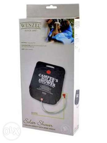 Wenzel Solar Shower (5-Gallon Capacity)