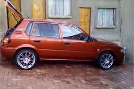Toyota Tazz 2003,in great condition