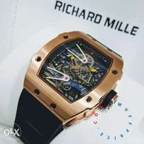 Richard mille rubber strap,we deliver anywhere in nigeria