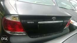 clean toyota camry 2005 leather seat xle
