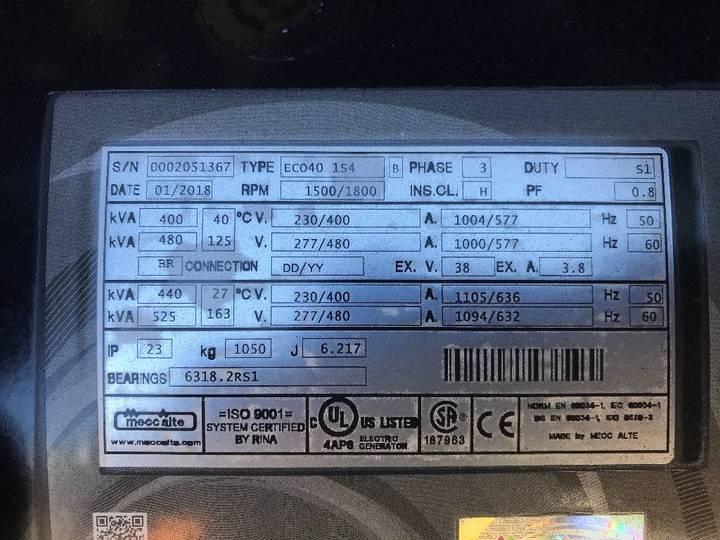 Doosan P158LE-1 - 410 kVA Generator - DPX-15553 - 2019 - image 15